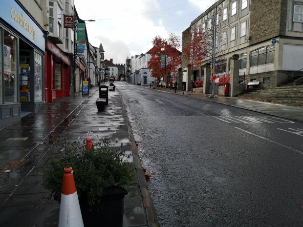 Free Press Series: Chepstow High Street in lockdown