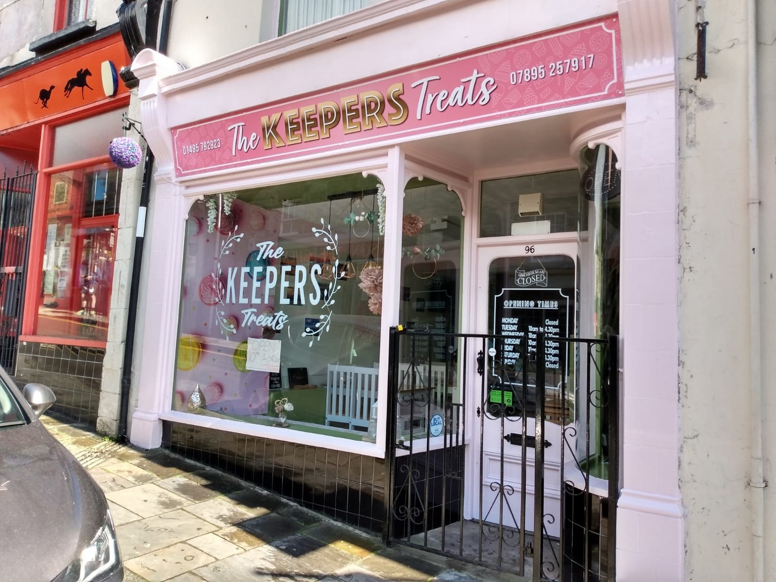 The Keepers Treats, which is set to reopen after recently rebranding.