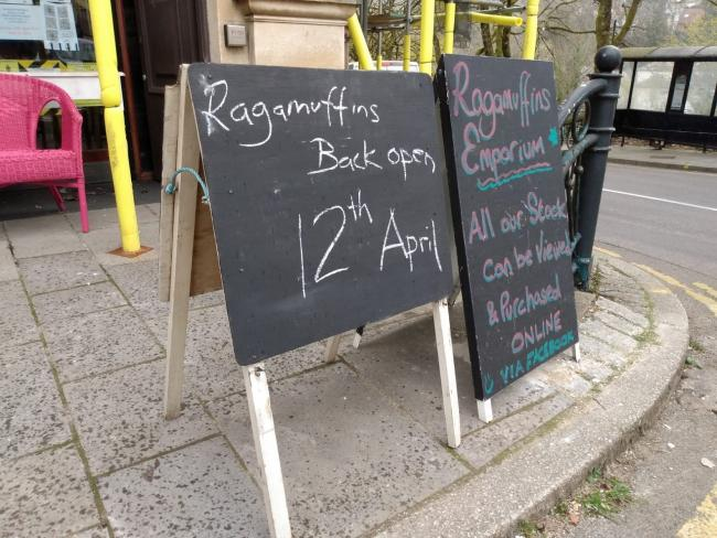Ragamuffins Emporium in Pontypool will reopen along with all non-essential retailers in Wales on April 12.