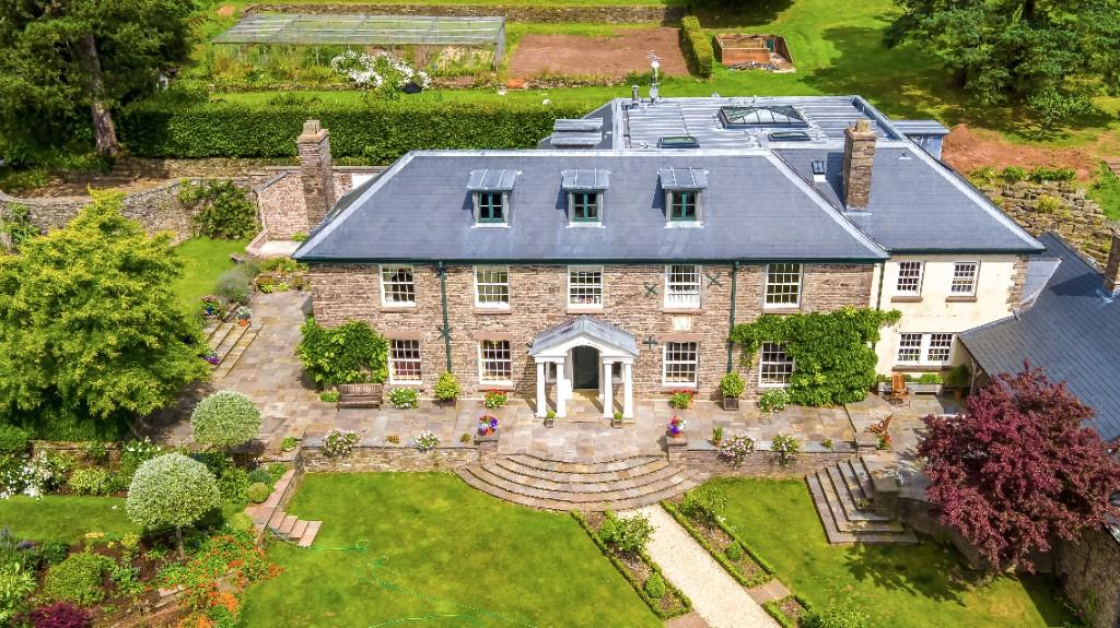 seventeenth Century Abergavenny mansion with hyperlinks to Owain Glyndwr up on the market