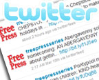 Follow the Free Press on Twitter