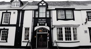The Review. . .The Three Salmons, Usk