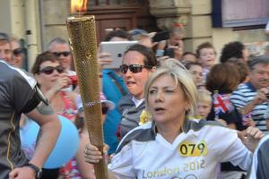 See your pictures of the Olympic Torch in Gwent
