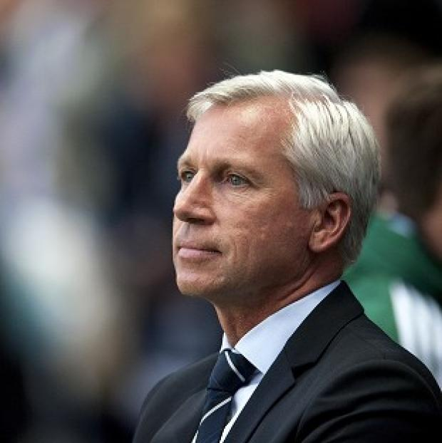 Alan Pardew will be happy when the transfer window shuts