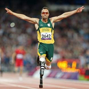 Oscar Pistorius has won gold in the men's T44 400m at the Olympic Stadium