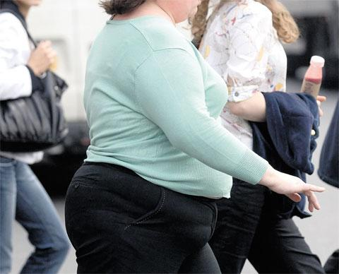 HEALTH ISSUE: Three of Gwent's five counties have higher recorded obesity figures than average