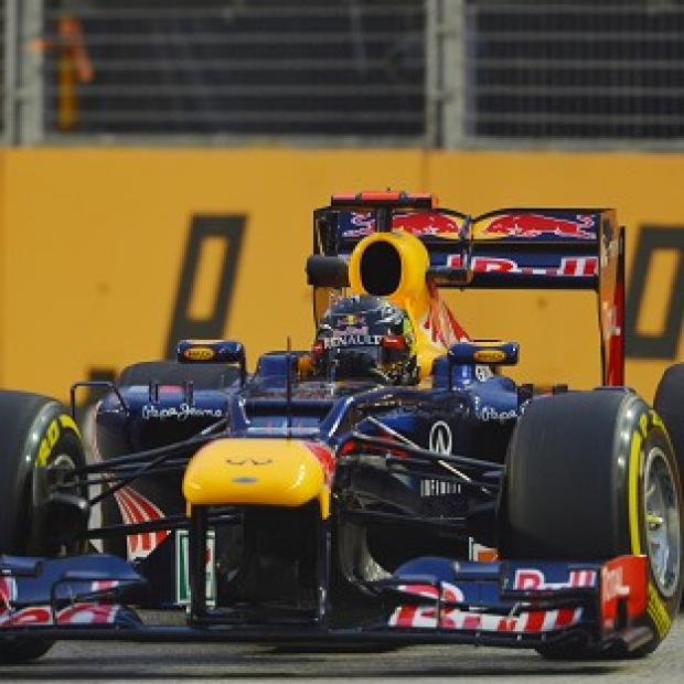 Sebastian Vettel impressed in both of Friday's pratcice sessions in Singapore