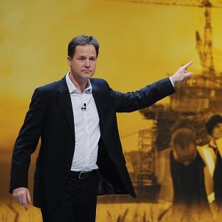 Nick Clegg has revealed plans for a 'pension from property scheme'