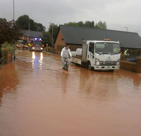 Warning of floods across in South East