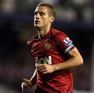 Nemanja Vidic has been ruled out for eight weeks after having knee surgery