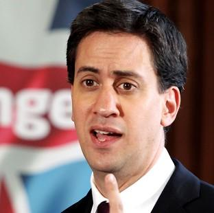 Labour leader Ed Miliband said churches and other religious institutions should be free to stage gay weddings (PA)