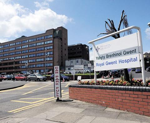 Gwent hospital waiting times 'falling behind'