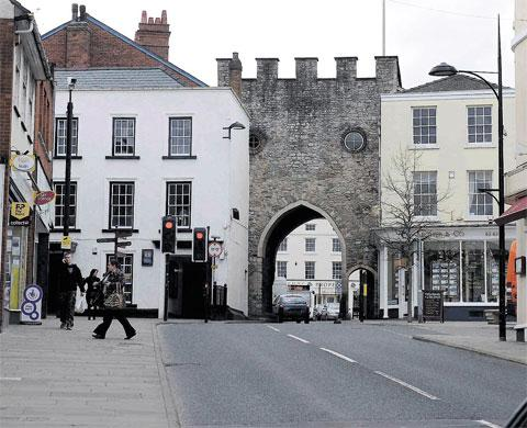 DENIAL: Chepstow is not the town of Pagford featuring in JK Rowling's new novel