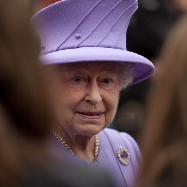 The Queen's bad back forced her to miss a church service on Sunday