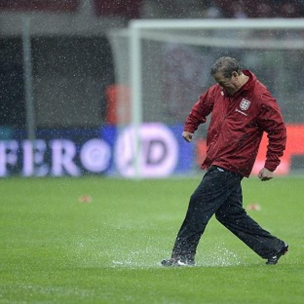 England's match against Poland in Warsaw is in danger of being postponed