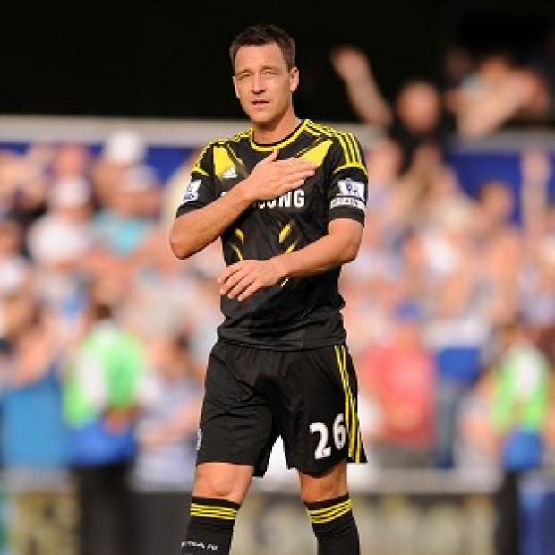 It is believed John Terry has been fined by Chelsea