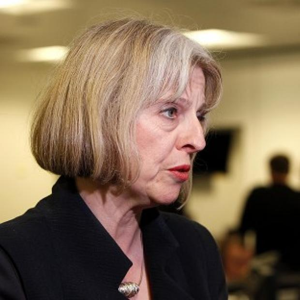 Home Secretary Theresa May said the terror threat level in Northern Ireland remains at 'severe'