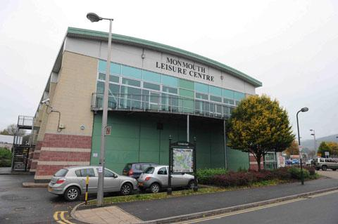 ACCIDENT SCENE: Monmouth Leisure Centre