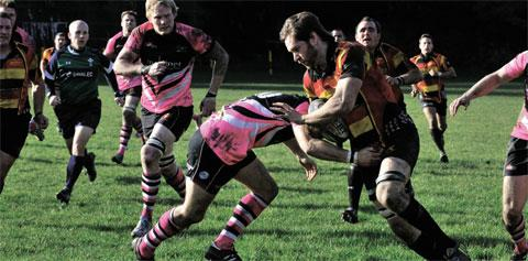 Pontypool bravely battle back but are edged out in lively derby