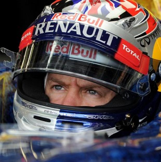 Sebastian Vettel has set the pace at the Indian Grand Prix