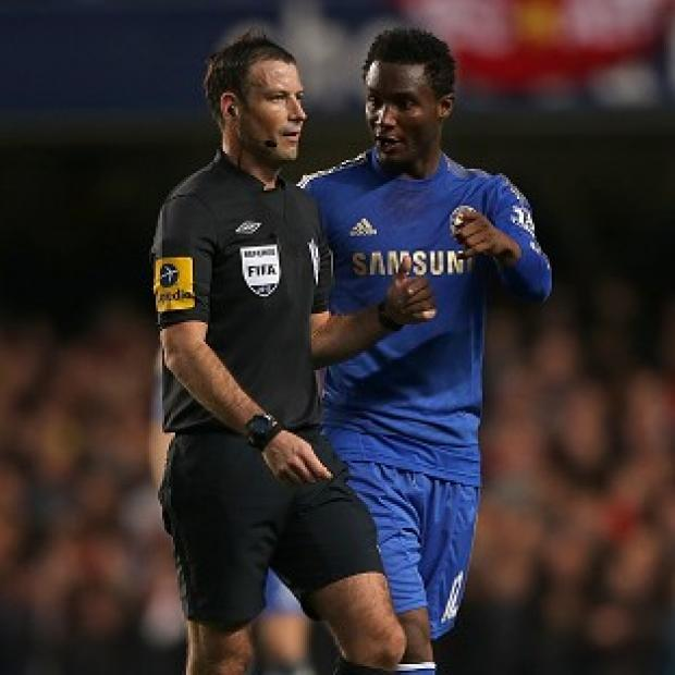 Chelsea have made a formal complaint against Mark Clattenburg, left