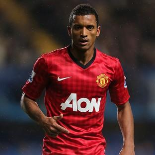 A hamstring injury will sidelined Nani for 10 days