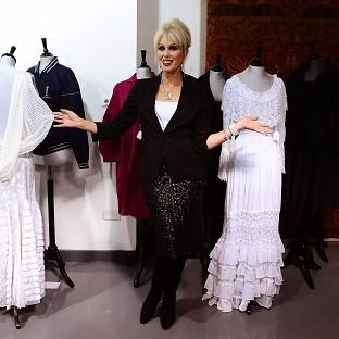 Joanna Lumley auctioned off the contents of her wardrobe in aid of the Prince's Trust