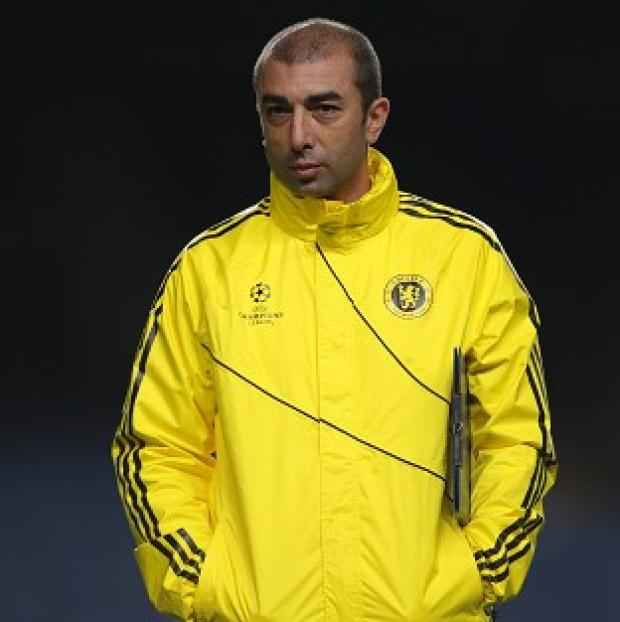 Roberto Di Matteo shouldered the blame for Chelsea's 3-0 defeat to Juventus