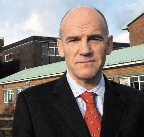 'BITTERLY DISAPPOINTING': Llantarnam head teacher David Bright commenting on the latest Estyn report