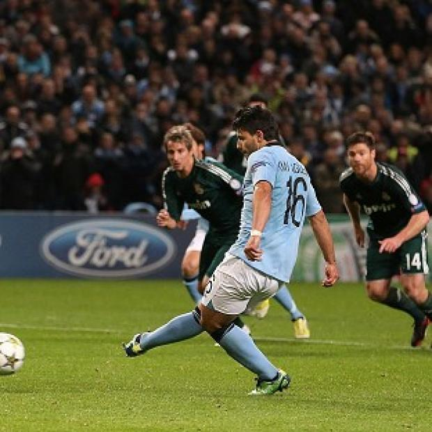 Free Press Series: Manchester City's Sergio Aguero scored the equaliser from the penalty spot