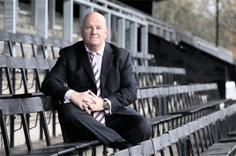£100,000 SAVIOUR: Peter Jeffreys who has saved Pontypool RFC by paying off the club's debts