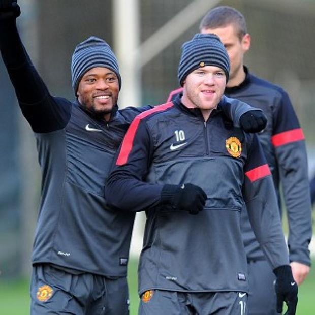 Free Press Series: Wayne Rooney, right, will start against CFR Cluj on Wednesday night