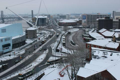 Warning of snow and ice for Gwent