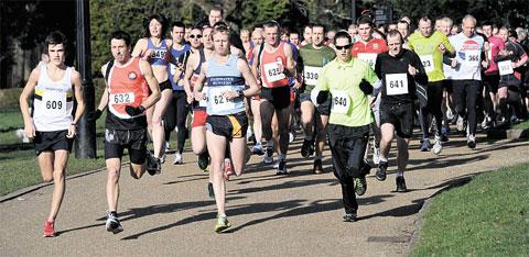 RACE DAY: St Davids Foundation 10k run at Pontypool Park last year Get in the running for a 'lovely' charity challenge