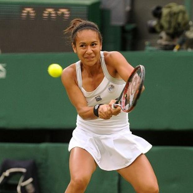 Heather Watson recorded a comfortable victory over Timea Babos