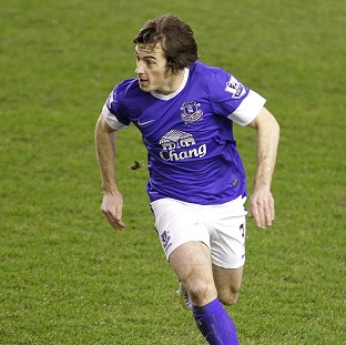 David Moyes was full of praise for two-goal hero Leighton Baines, pictured