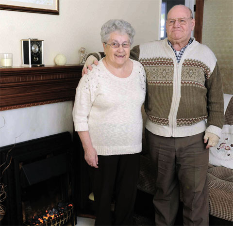 DANGEROUS GAS: Margaret and Michael Ayre didn't know they had a gas leak