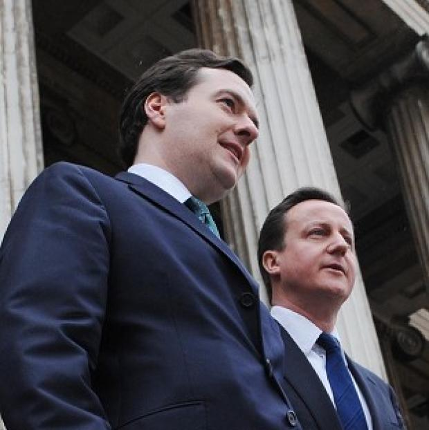 Downing Street played down claims that David Cameron is facing pressure to sack George Osborne