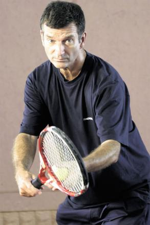 Comedian Tony Hawkes to screen film, Playing the Moldovans at Tennis, in Monmouthshire