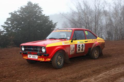 Pontypool driver Sean Edwards finishes well in Wyedean Rally