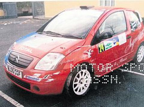 Stolen rally car recovered in Newport