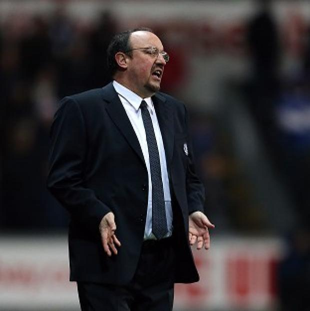 Rafael Benitez wants Chelsea to start taking their chances