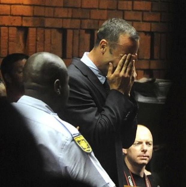 Free Press Series: Oscar Pistorius weeps in court in Pretoria at his bail hearing (AP)