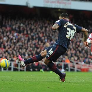 Free Press Series: Colin Kazim-Richards scored the only goal as Arsenal were dumped out of the FA Cup