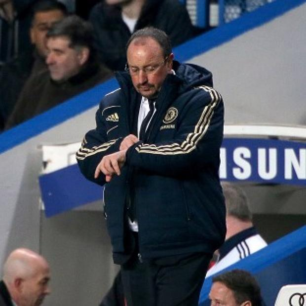 Rafael Benitez stressed his relationship with the Chelsea squad is 'fantastic'