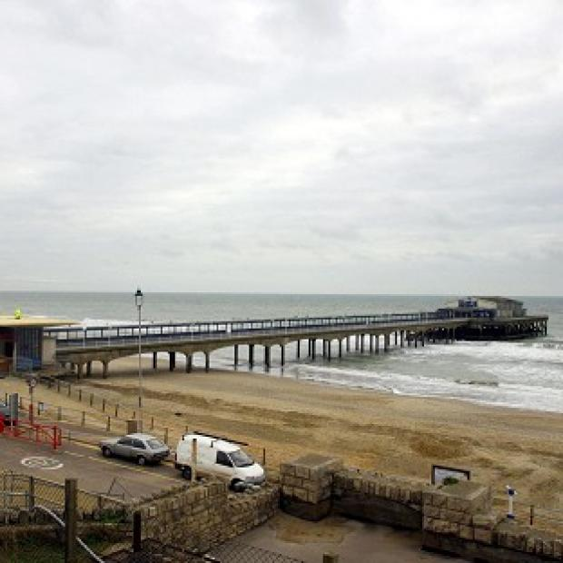 Improvement work has started to move 10,000 cubic metres of sand back westwards down the beach towards Boscombe Pier