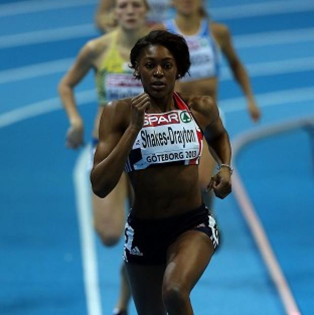 Perri Shakes-Drayton won the 400 metres