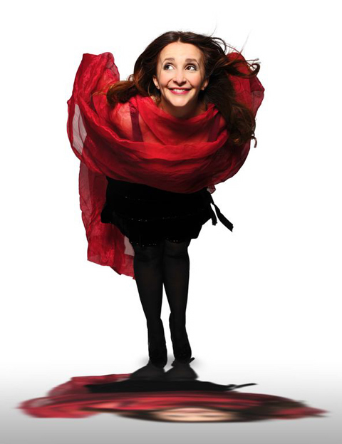 Lucy Porter will play Abergavenny and Newport in coming weeks