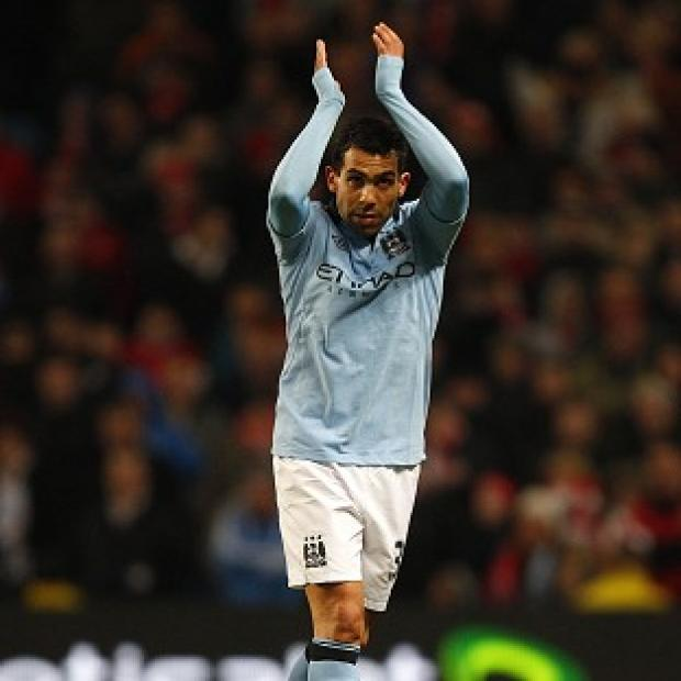 Carlos Tevez scored a hat-trick against Barnsley