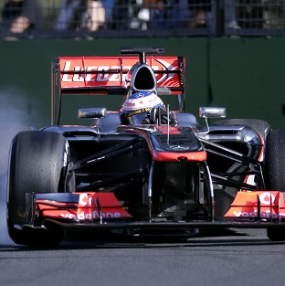 Jenson Button was the leading McLaren driver in second practice in 11th place (AP)